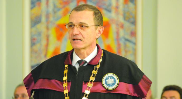 Ioan-Aurel Pop, rector Babeș-Bolyai