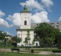 """Biserica """"Cuvioasa Parascheva"""" a fost construită în anul 1792 pe locul unor biserici mai vechi."""
