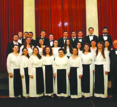 Cantores Amicitiae, cu 40 de ani mai tînăr.