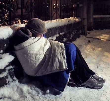 Sfinţii de gheaţă, păzitorii oamenilor fără adăpost