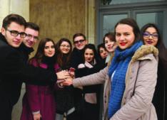 Studenții de la jurnalism se întîlnesc cu moderatorul TV Dan Negru