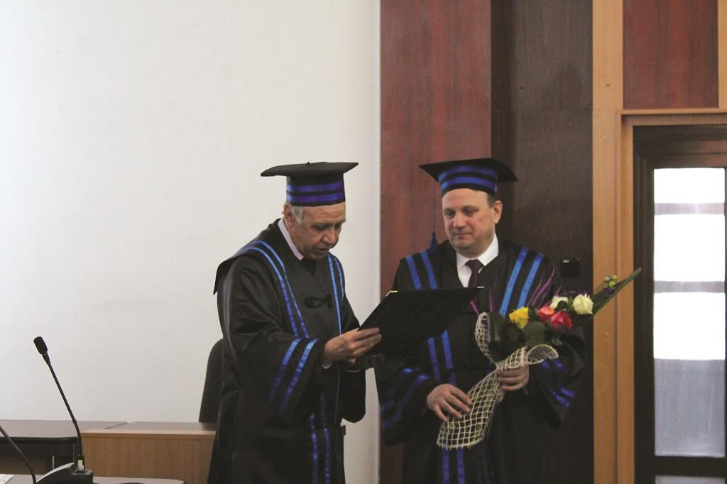 Vasile Bumacov, Doctor Honoris Causa al Universității Tehnice