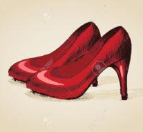 Libertatea '89 în pantofi roșii de lac