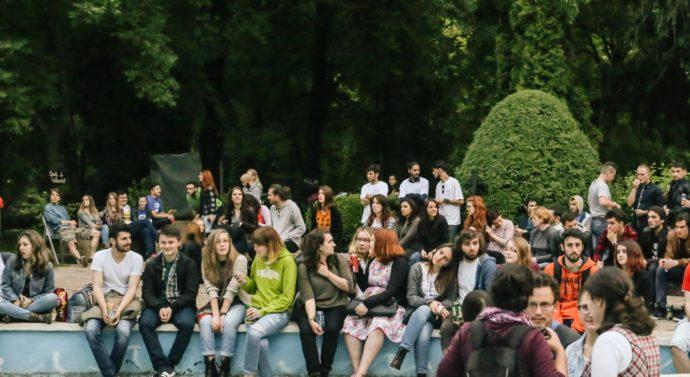 """Studenții francofoni,""""liberi împreună"""" pentru șase zile"""