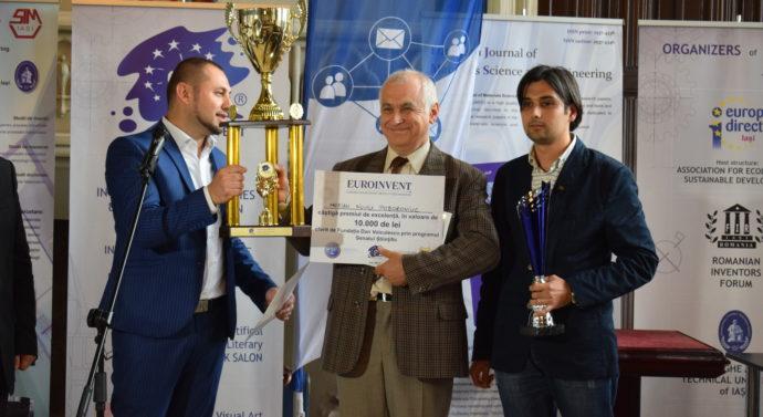 Un profesor de la Politehnică a cîștigat Marele Premiu Euroinvent