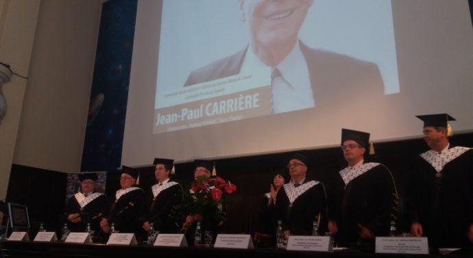 """Profesorul Jean-Paul Carriere, Doctor Honoris Causa al Universității """"Cuza"""""""