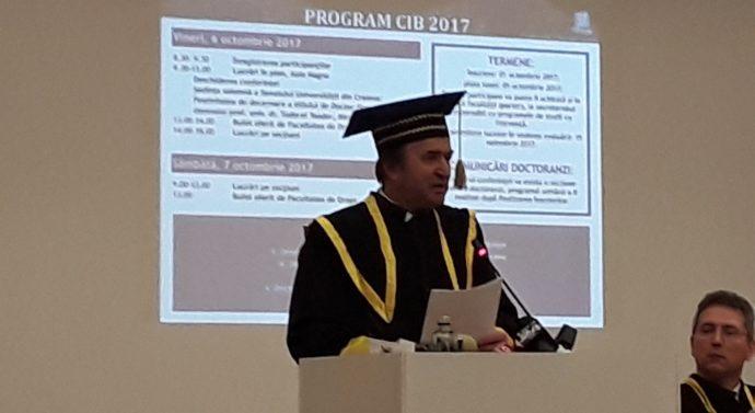 Ministrul Justiției a primit titlul de Doctor Honoris Causa la Craiova
