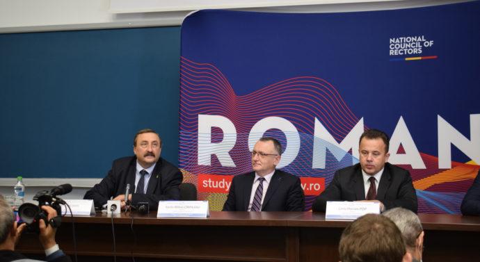 Consiliul Naţional al Rectorilor s-a reunit pentru prima dată la Iaşi, la Universitatea Tehnică